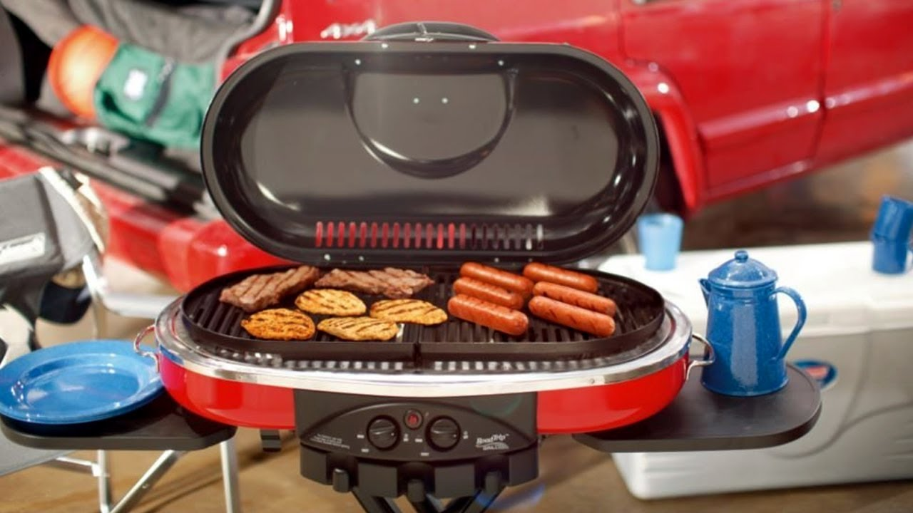 Coleman road trip propane portable grill review