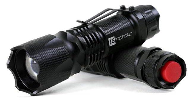 J5 Tactical V1-Pro Flashlight review
